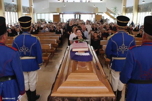 Posljednji Ispracaj Mons Marijana Radanovica Kafotka