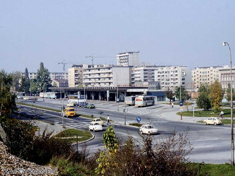 Autobusni Kolodvor Krajem 1980 Tih Kafotka